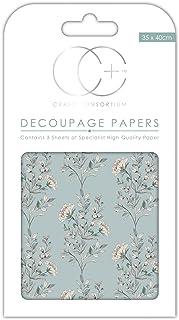Papiers de qualit/é pour d/écoupages Mosa/ïque dor/ée Craft Consortium