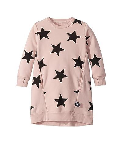 Nununu Star A Dress (Toddler/Little Kids) (Powder Pink) Girl