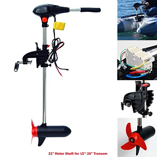 Electric Outboard Motors for Boats: Amazon com