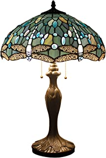 antique crystal glass table lamps