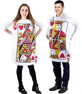 card couple costume