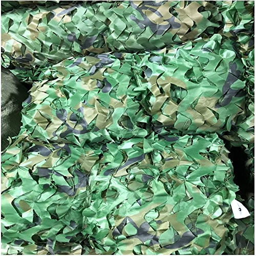 Filet Camo Visière Extérieure GR Filet de camouflage Filet de camouflage Double corde en nylon Oxford Tissu Camping Parasol Enfants Jungle Filet de camouflage multi-tailles en option (couleur  3  4m)