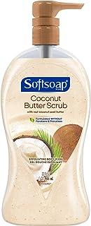 Sponsored Ad - Softsoap Exfoliating Body Wash Pump, Coconut Butter Scrub - 32 fluid ounce