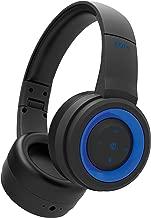 iHome iB95BLC Wireless Foldable Headphone, Ipx4 Rated Sweatproof, Rainproof and Splashproof, Black and Blue