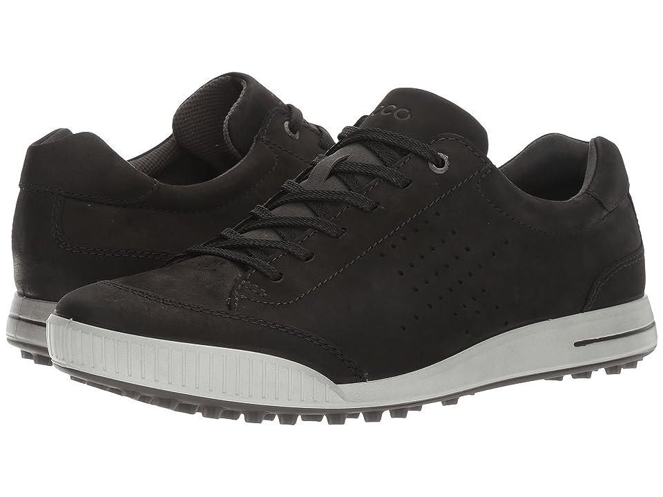 ECCO Golf Street Retro HydroMax (Black/Black) Men