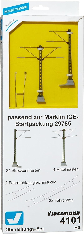 Viessmann 4101 - H0 Oberleitungs-Set Ice