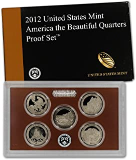 2012 S US Mint Quarters Proof Set Original Government Packaging