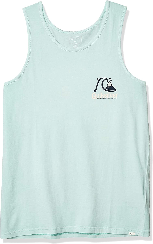 Quiksilver Mens Empty Rooms Tank Shirt