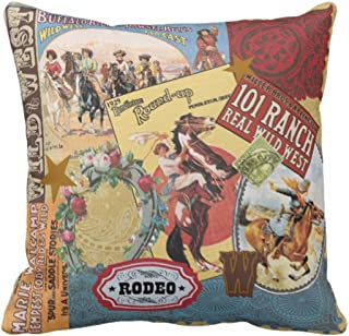 Best vintage western throw pillows Reviews