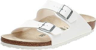 Birkenstock Arizona, Women's Fashion Sandals, White (Patent White 1005294), 35 EU