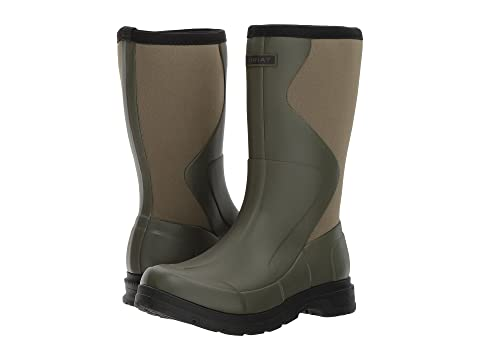 oliva Ariat verde Rubber Springfield Boot RwwxYSITq