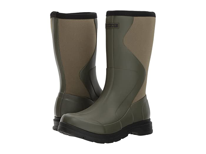 Ariat  Springfield Rubber Boot (Olive Green) Womens Waterproof Boots