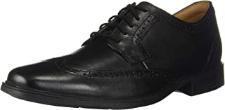 Clarks Mens 26146219 Tilden Wing Black Size: 11 Wide