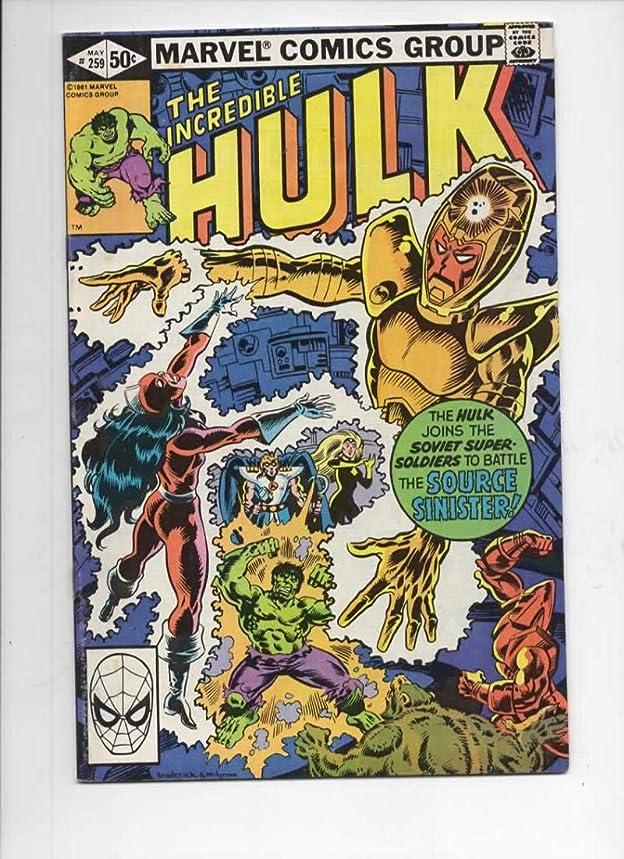 HULK #259, VF/NM, Incredible, Bruce Banner, Super Soviet, 1968 1981, Marvel
