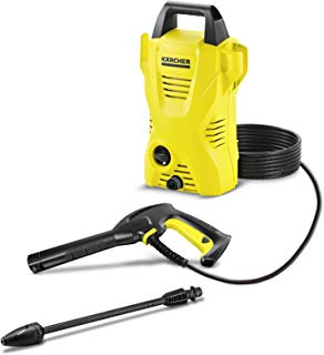 Kärcher 1.673-159.0 K2 Basic - Hidrolimpiadora de alta presión para exteriores 110 bar, 1400 W, 360 L/h