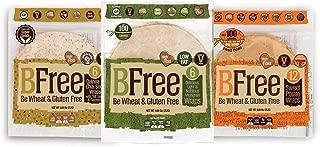 Bfree Gluten Free Wrap Tortillas Variety Pack 8