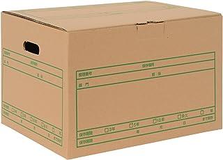 プラス 段ボール箱 D型 A4用 10冊 DN-242NN 40-077