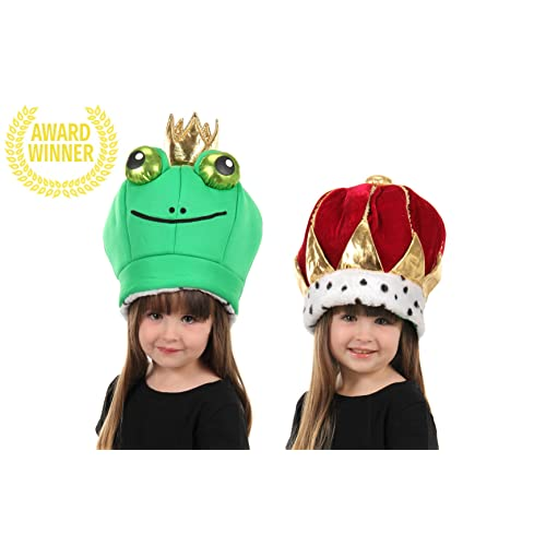 198a9c78196 elope Frog Prince Reversible Plush Hat