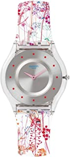 Girl's SFE102 Classic Jardin Fleuri Swiss Quartz Watch