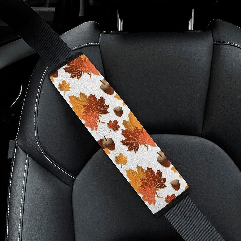 Fall Harvest Autumn Seasonal Save money Leave Year-end gift Leaf Seat Pattern Bel Nut Car