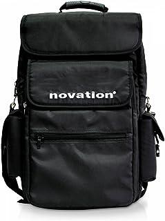 Novation - Funda para teclado de 25 teclas y accesorios, color negro