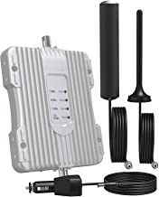 SolidRF MobileForce 4G Cell Phone Signal Booster 3G 4G LTE Cell Phone Booster Mobile Phone Signal Booster Cell Signal Amplifier Repeater For Car All Carriers