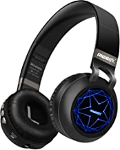 Riwbox WT-8S Bluetooth Headphones, LED Light Up Wireless Headphones Over Ear Hi-Fi Stereo..