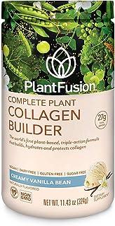 Sponsored Ad - PlantFusion Collagen Builder Plant Based Peptides Protein Powder | Vegan Collagen Supplement |Collagen Buil...