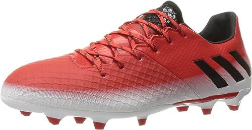 adidas Originals Men& 039;s Messi 16.2 Firm Gründ Cleats Soccer schuhe, rot schwarz Weiß, (10 M US)