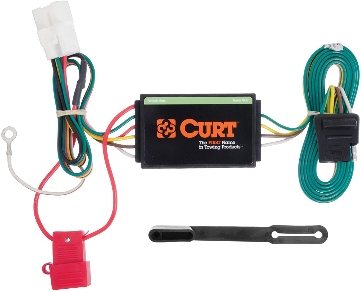 CURT 56040 Vehicle-Side Custom 4-Pin Trailer Wiring Harness, Fit