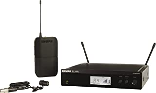 Shure BLX14R/W85 Lavalier Wireless System with WL185 Lavalier Microphone, Rack Mount, J10