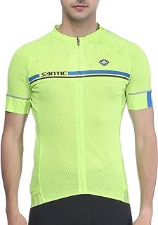 comprar comparacion Santic Maillot Ciclismo Hombre Verano Maillot Bicicleta Montaña Bike MTB Camiseta con Mangas Cortas - Kamen