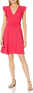 Black Halo Women's Fit and Flare Dress