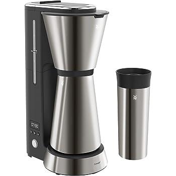 WMF Küchenminis Aroma - Cafetera con termo, 5 tazas, cafetera de filtro, taza térmica para llevar de 350 ml, 870 W, temporizador de 24 horas, apagado automático gris: Amazon.es: Hogar