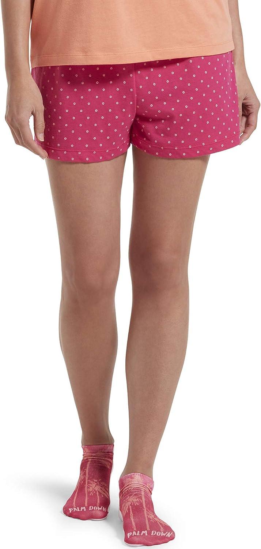 Details about  /HUE Women/'s Printed Knit Boxer Set