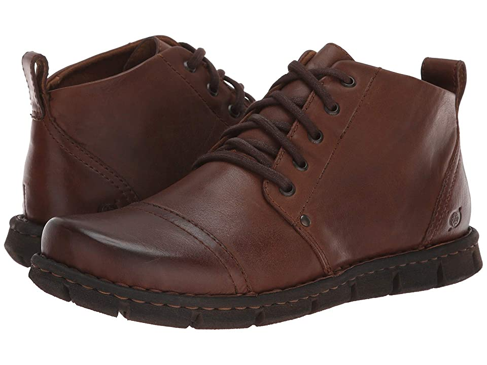 Born Axe Ii Castagno Full Grain Leather Mens Lace Up Boots