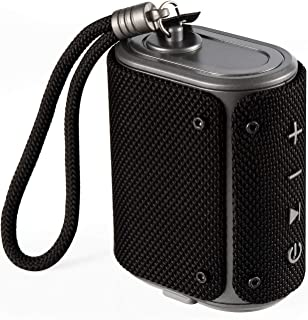 boAt Stone Grenade 5 Watt Wireless Bluetooth Outdoor Speaker (Charcoal Black)