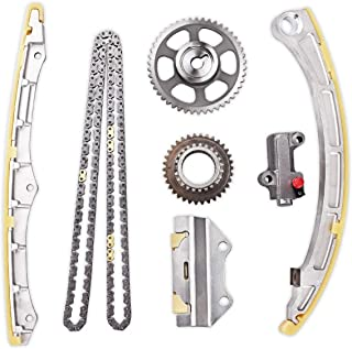 PUENGSI Timing Chain Kit Replacement fit for Honda 2003-2007 Accord 2002-2009 CR-V 2003-2011 Element 2.4L 2354Cc L4 DOHC Eng Code K24A4 K24A8 K24A1 K24Z1