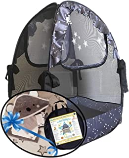 Popup Mini Cribs Tent - Koala Gifts - Pack n Play Travel Tent to Keep Baby from Climbing Out - Portable Ready to use on Vacation - Mosquito Net Baby Canopy Netting a Must When Staying with Family