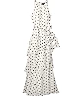 Ruched Neck Gown
