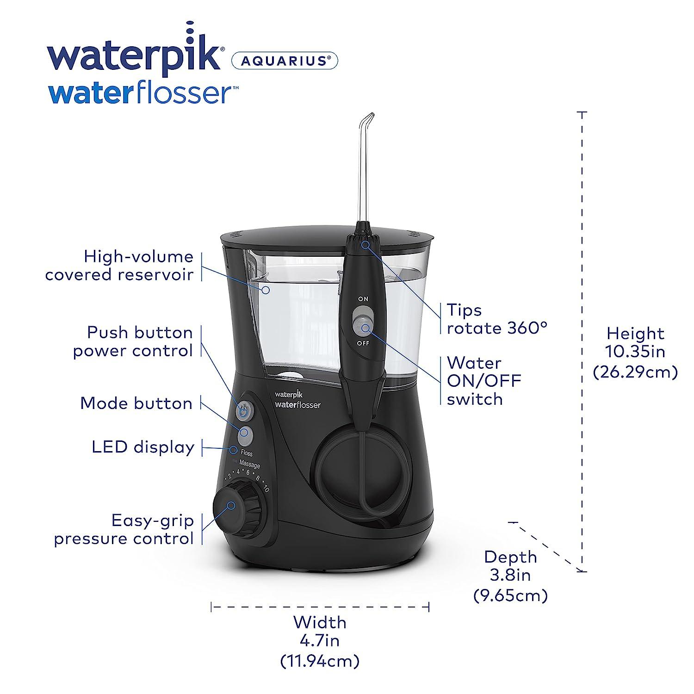 thumbnail 7 - Waterpik WP-660 Water Flosser Electric Dental Countertop Professional