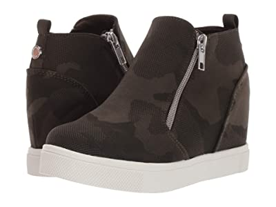 Steve Madden Kids Wedgie (Little Kid/Big Kid) (Camo Multi) Girl