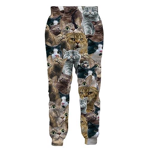 0df34d94 Leapparel Men/Women 3D Joggers Pants Trousers Sport Track Sweatpants Baggy