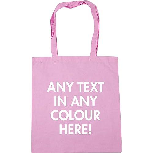 Hippowarehouse Personalised Tote Shopping Gym Beach Bag 42cm x38cm 509a59dd2f6d