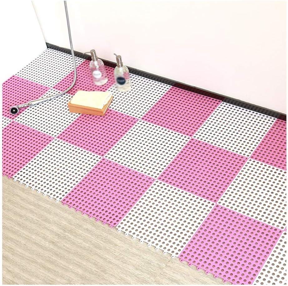 GHHZZQ Bathtub Mats Non-Slip Splice Soft Texture PVC Ottomans Ho