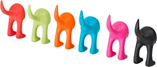 Ikea Rubber Hook, Set of 6, Assorted Colors