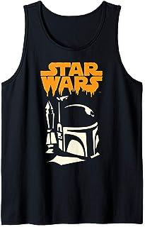 Star Wars Boba Fett Dripping Ooze Logo Halloween Débardeur