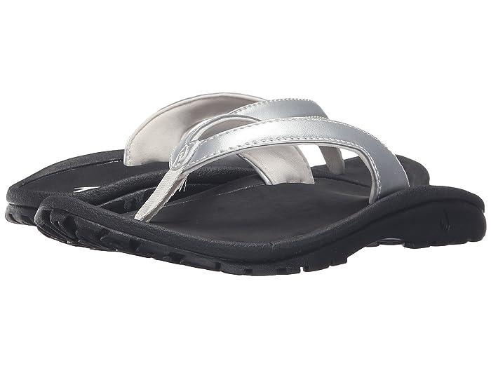 Kulapa Kai  Shoes (Toddler/Little Kid/Big Kid) (Silver/Black) Girls Shoes