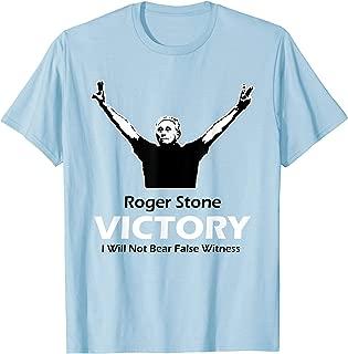 Pro Roger Stone Victory Posture American Politics T-Shirt