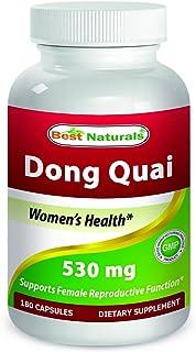 Best Naturals Dong Quai 530 mg 180 Capsules